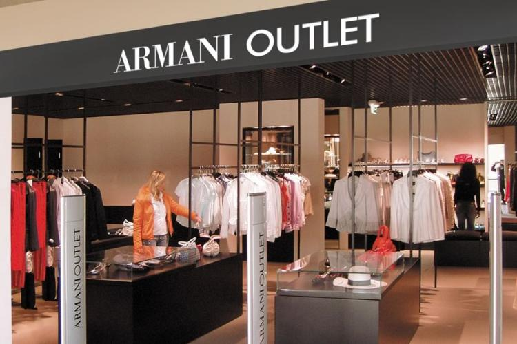 armani factory outlet